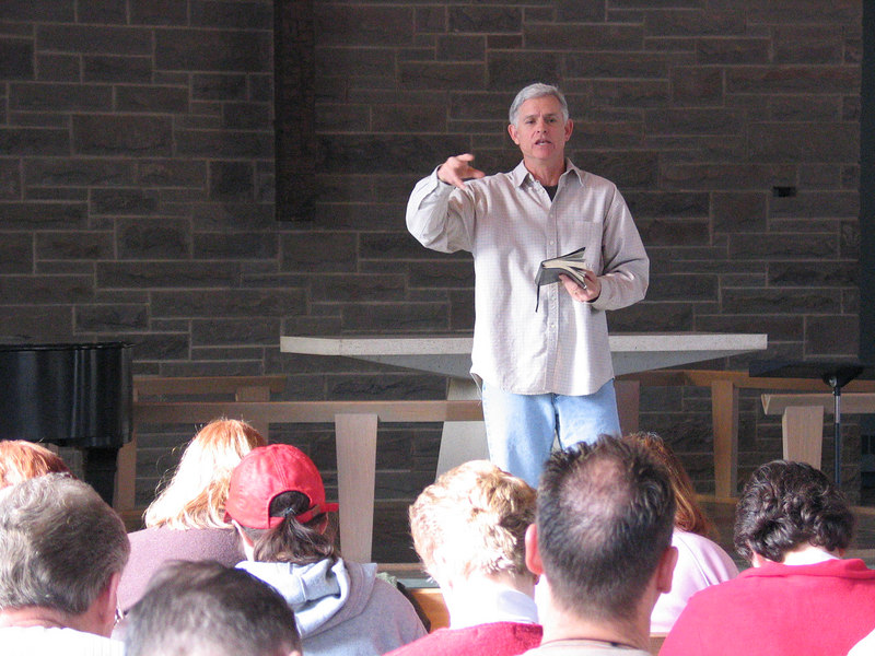 "Dave Gudgel, Sr. Pastor of Bethany Bible Church in Phoenix, AZ and veteran Walk-Thru-The-Bible Instructor, gave five excellent sessions on ""Love, Sex, and lasting relationships"" based on Chip Ingram's book by the same title."
