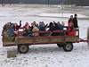 Many enjoyed their wagon ride.