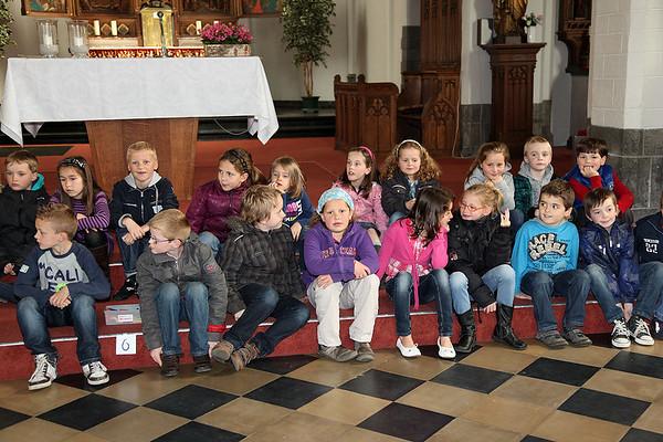 Voorbereiding eerste communie 2012