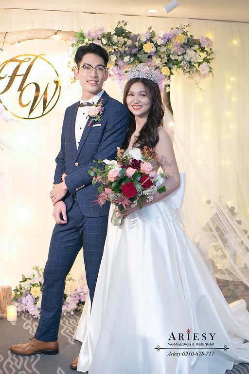 晶華酒店婚禮,新娘秘書,新秘,台北新秘推薦,歐美大皇冠,新娘髮型