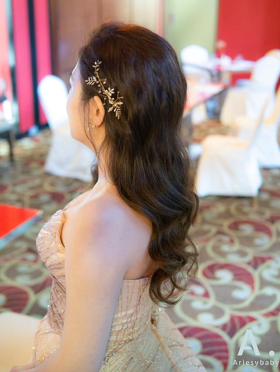 新祕,Ariesybaby造型團隊,細軟髮新娘,時尚造型