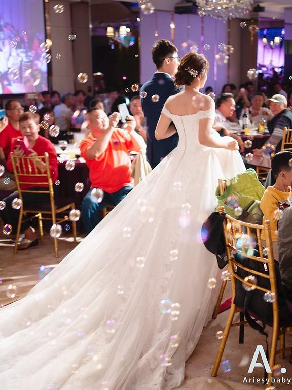 新祕,Ariesybaby造型團隊,歐美新娘,白紗造型,新娘髮型