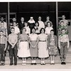 Sacred Heart Elementary School Class - Sister Maria Goretti (spelling probably wrong) - 1955 - We were all about 12 or 13 years old... oh wow.... Here are some of the names Left to Right, Front row: Johnny Holland, Paul Gerdes, Eileen (Cousin) Gerdes, Beatrice Paz, Niki Matocha, Katherine Dolan, Gerald Trlica (dig those socks!!!!); Second row - Leroy Ryza, Margaret Ermis, Bridget McWhorter, Ida Luna (?), Geraldine Vanecek, Hughes  Thomas, Back Row; ?, Jerry Schultz, Jerry(?) Matula,Sister Goretti, Linda Rozypal, Barbara(?) Gerla, Johnny Janski. Dang it I wish I remembered everybody's name..help me out here....Will edit as I get the names...email = fpgerdes@gmail.com