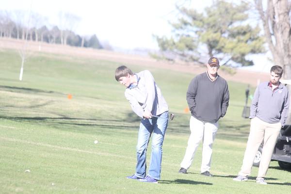 Siouxland Conference boys' golf at Sheldon 4-6-17