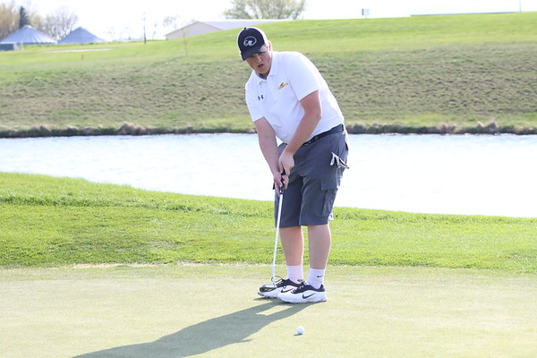 Siouxland Conference boys' golf at The Ridge 5-4-17