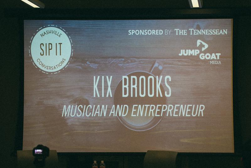 Sip It Series with Kix Brooks