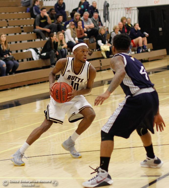 . Siskiyous at Butte College men\'s basketball January 23, 2017 Butte College in Oroville, California. (Emily Bertolino -- Enterprise-Record)