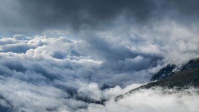 Opp i skyene