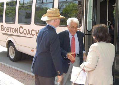 Dr. Hinohara Visit - May, 2008