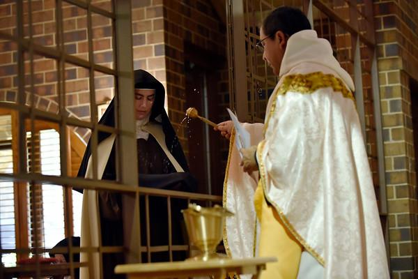 Sister Jacinta makes solemn vows