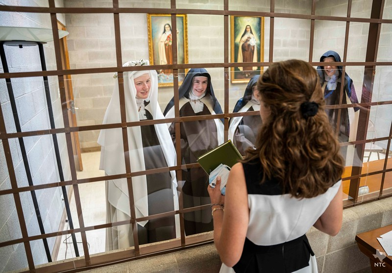 Sister Mary Francisca professes first vows