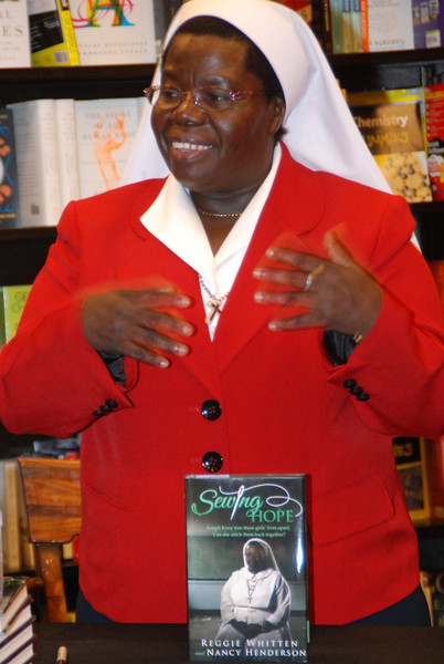 Sister Rosemary - Norman, OK - Barnes & Noble Booksigning -- 3/1/14