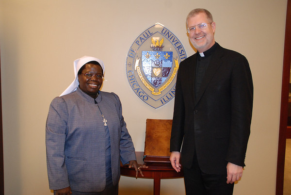 Sister Rosemary at DePaul University