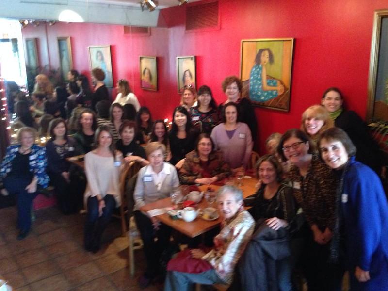 sisterhood paid-up luncheon jan 2014