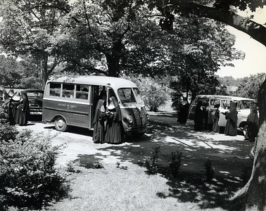 Sisters of Mercy on Campus, 1950s