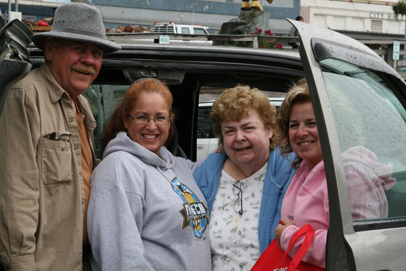 With Mom and Russ<br /> Ketchikan, Alaska<br /> 2010