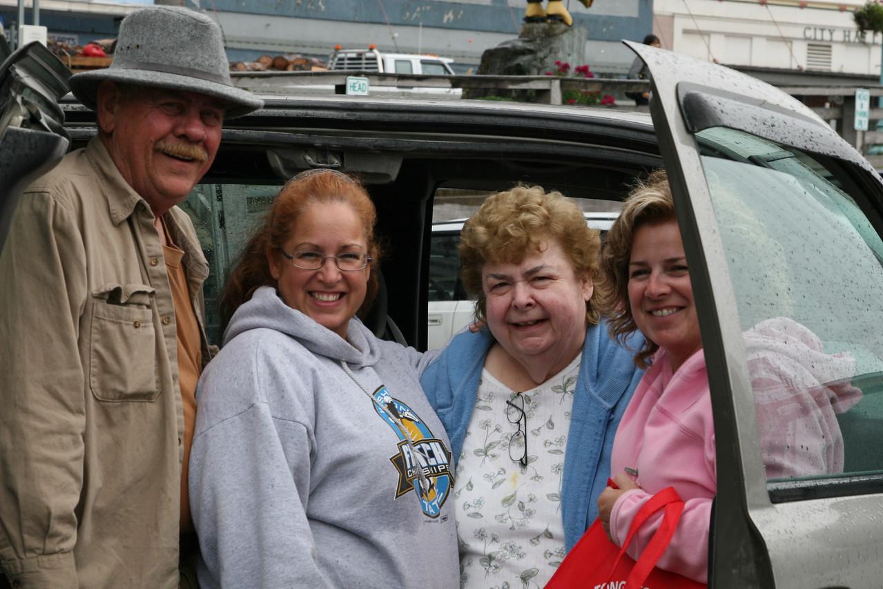 With Mom and Russ<br /> Ketchikan, Alaska<br /> 2010