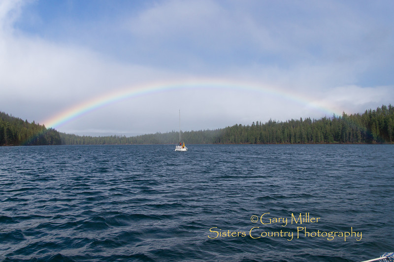 Sailboat launch day at Suttle Lake 2012 - White Rabbit & Molly Jim get rigged and wet - Gary N. Miller - Sisters Country Photography