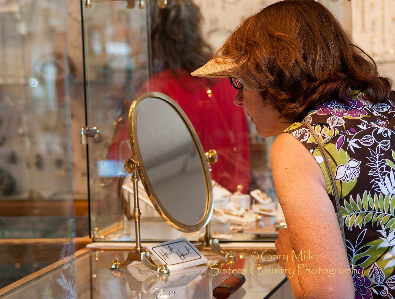 Shopping at the JewelPhoto by Gary N. Miller - Sisters Country Photography