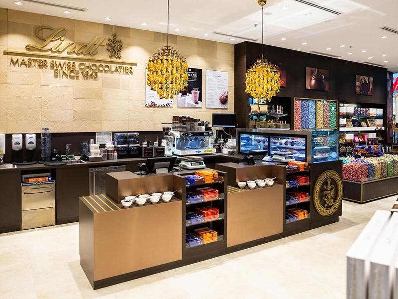 Lindt Boutique (photo credit: Food and Beverage)