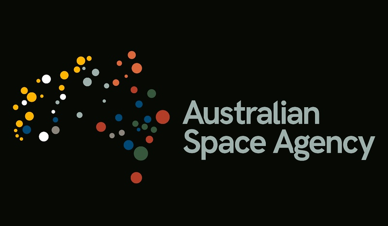 Australian Space Agency branding (photo credit: Dept of Industry, Innovation, and Science)