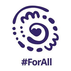 For All logo (photo credit: Ogilvy Melbourne/Cadbury Australia)