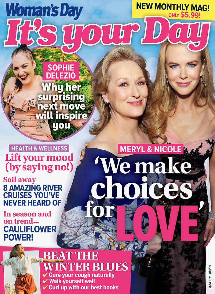 It's Your Day Issue No1 (photo credit: Bauer Media Group)