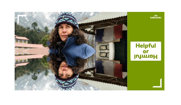 Helpful or Harmful? with Jan Fran (photo credit: Kathmandu/The Bravery)