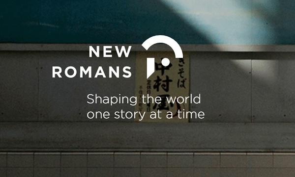 New Romans agency logo (photo credit: New Romans website home page)
