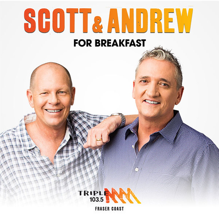 Scott and Andrew for Breakfast (photo credit: Castbox/Triple M)