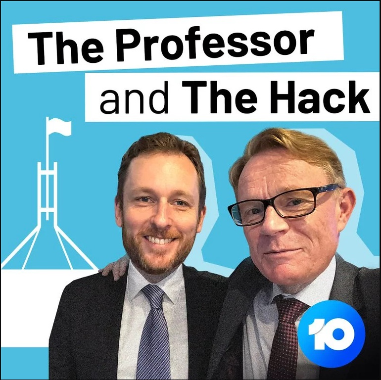 The Professor and the Hack (photo credit: 10)