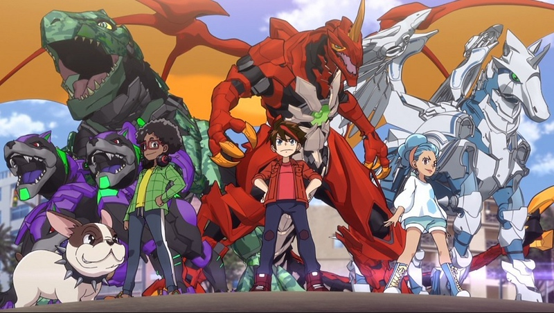 Bakugan Battle Planet characters and monsters (photo credit: Cartoon Network/SpinMaster/SEGA)
