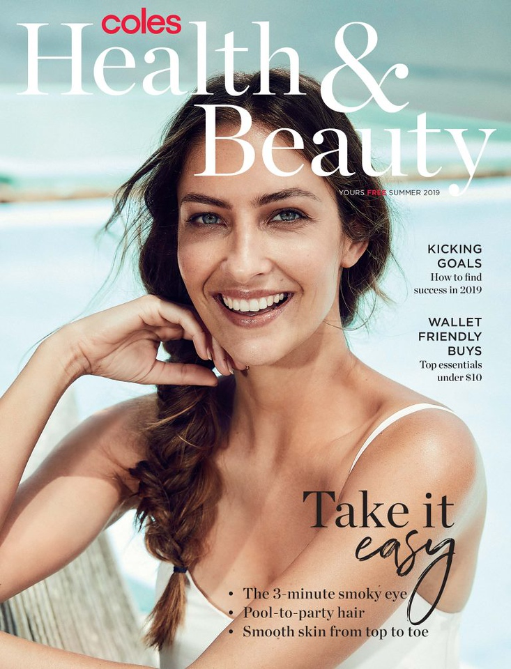 Coles Health and Beauty magazine (photo credit: Coles)