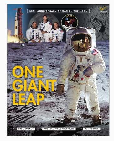 One Giant Leap magazine (photo credit: News Corp Australia)