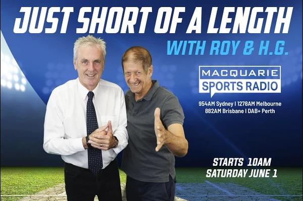 Roy and HG (photo credit: Macquarie Sports Radio)