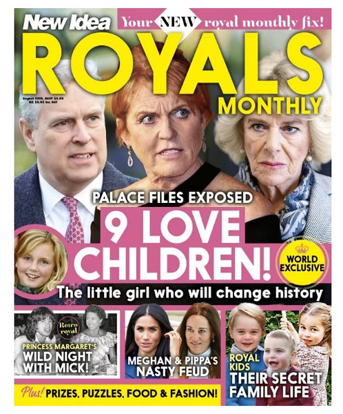 New Idea Royals (photo credit: New Idea/Pacific Magazines)