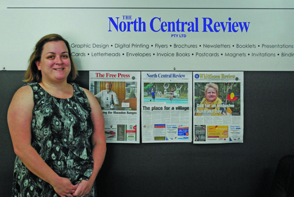 Lauren Duffy (photo credit: North Central Review)