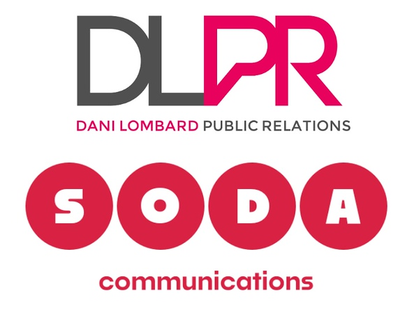 DLPR/Soda Communications logos (photo credit: DLPR)