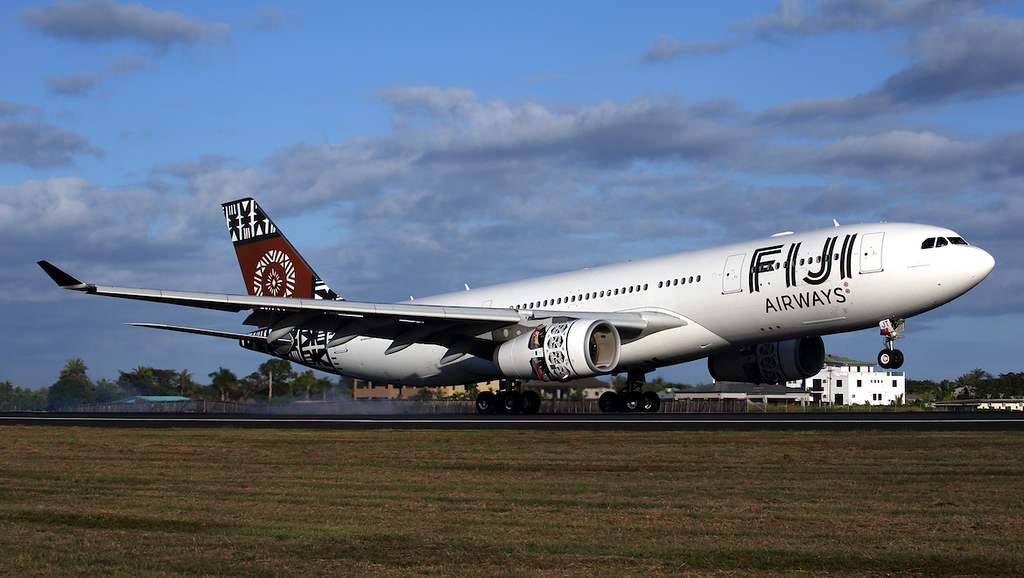 Fiji Airways A330 (photo credit: Australian Aviation)