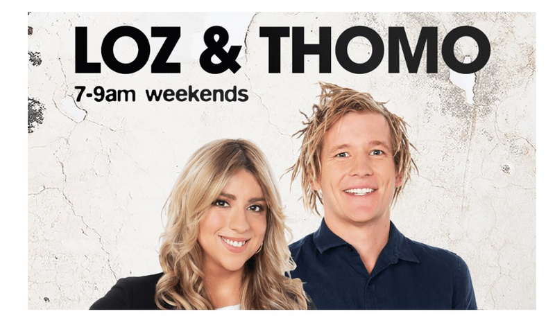 Loz and Thomo Triple M Adelaide Weekend Breakfast (photo credit: Triple M)