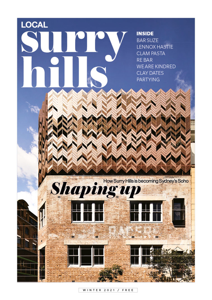 Local Surry Hills No1, Winter 2021 (photo credit: Local Publisshing)