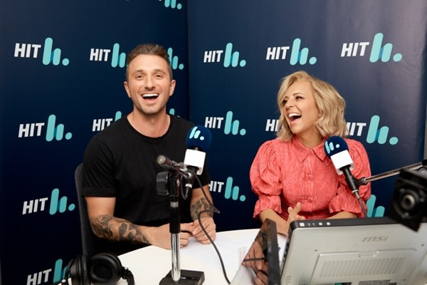 Carrie and Tommy (photo credit: Southern Cross Austereo)