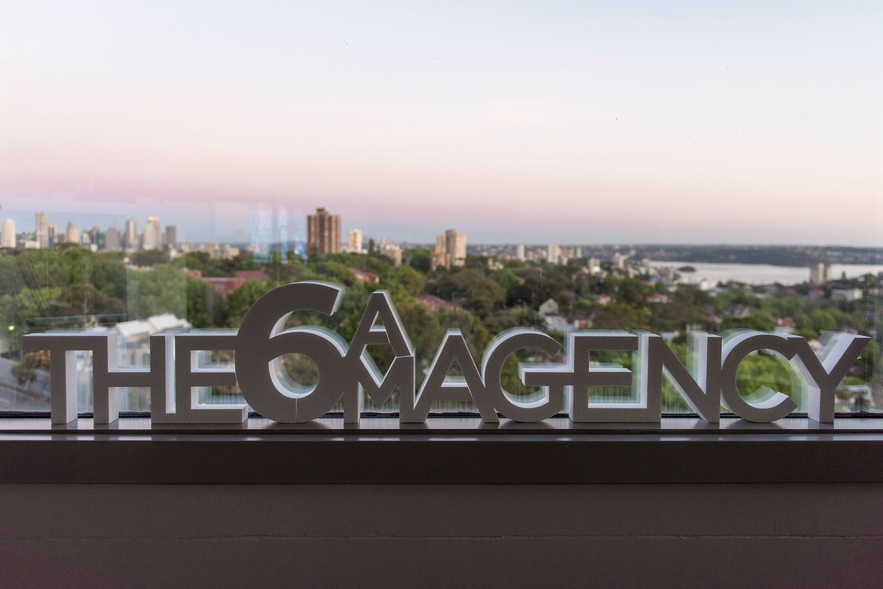 The 6AM Agency signage (photo credit; official 6AM Faccebook page)