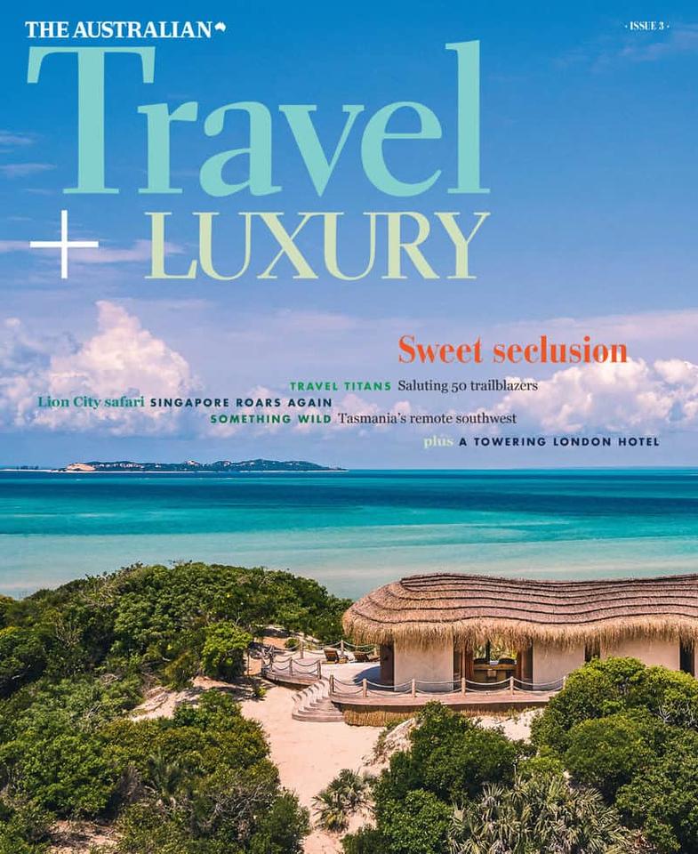 Travel + Luxury (photo credit: The Australian/NewsCorp Australia)