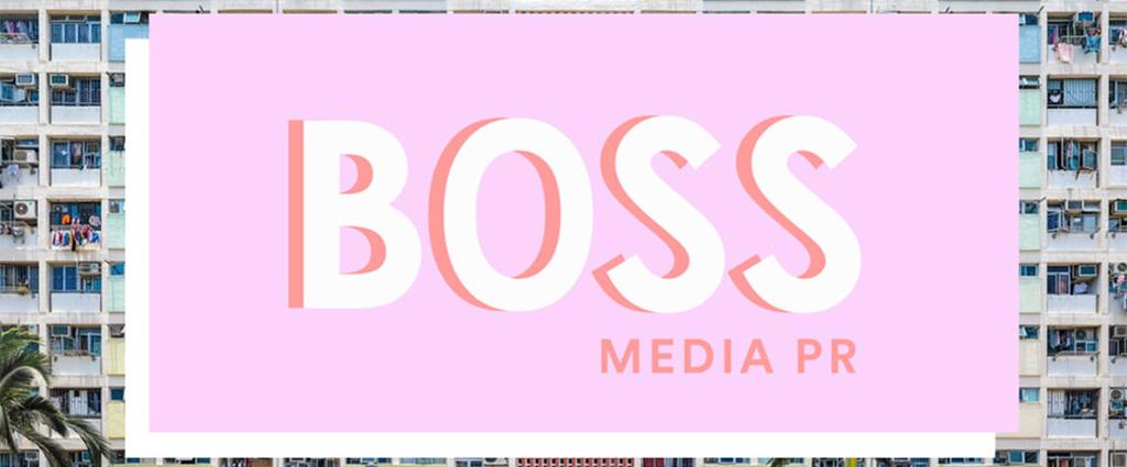 Boss Media PR logo