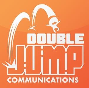 Double Jump Communications logo (photo credit: Double Jump Communications Twitter page)