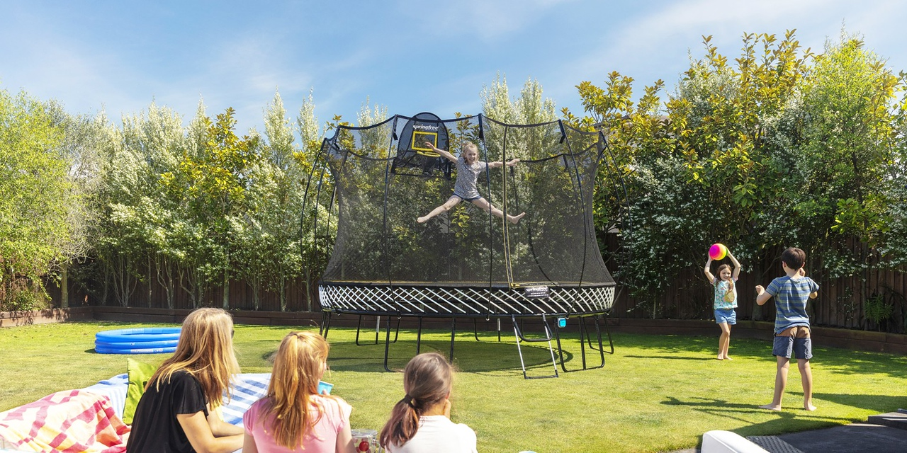 Springfree Trampoline sample. (photo credit: Springfree Trampoline)