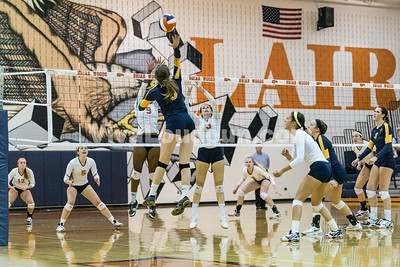 Volleyball: Loudoun County vs. Briar Woods 8.27.14 (by Chas Sumser)