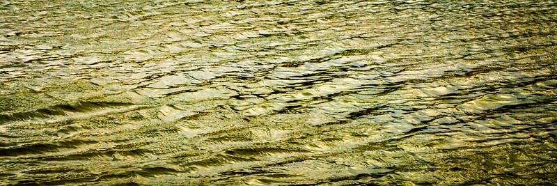Golden Water Pattern #2