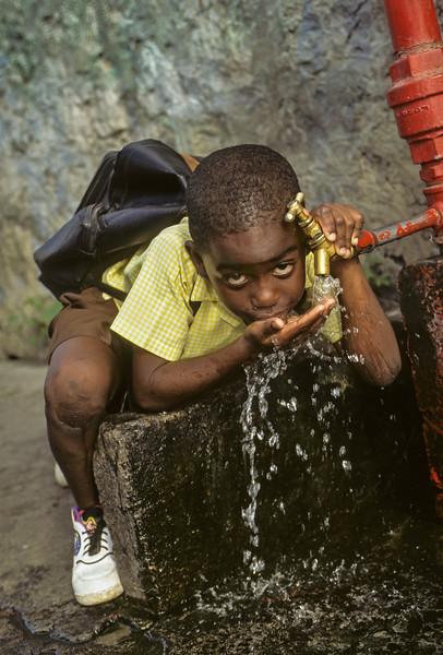 Ian Drinking Water